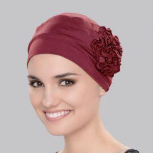Red Hair loss Turban