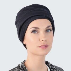 Hair loss Turban black